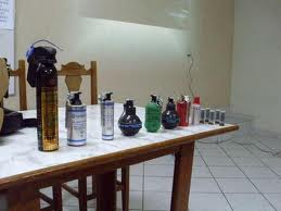 tear gas cleanup chemicals